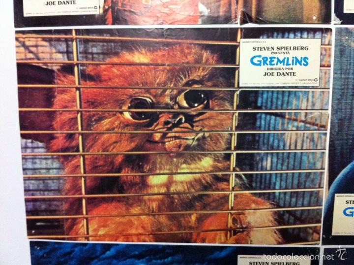 Cine: Lote 9 fotocromos GREMLINS original lobby cards - Foto 8 - 55054954