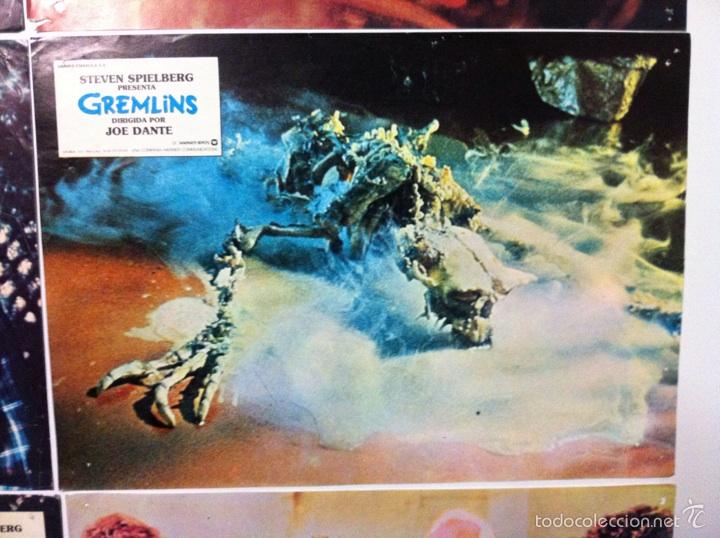 Cine: Lote 9 fotocromos GREMLINS original lobby cards - Foto 11 - 55054954