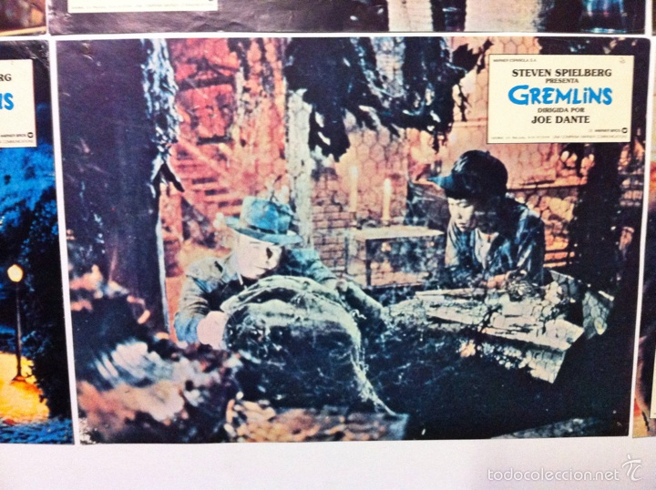 Cine: Lote 9 fotocromos GREMLINS original lobby cards - Foto 13 - 55054954
