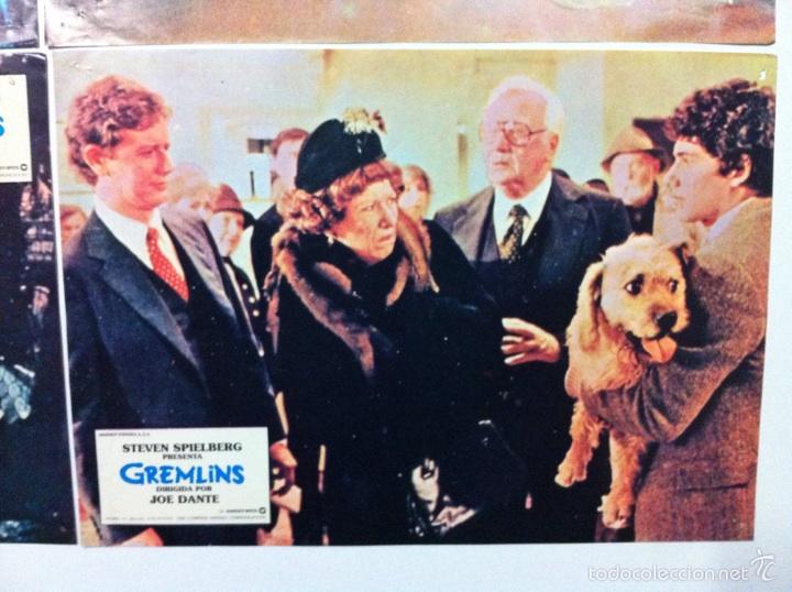 Cine: Lote 9 fotocromos GREMLINS original lobby cards - Foto 14 - 55054954
