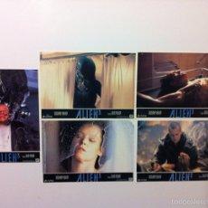 Cine: LOTE 5 FOTOCROMOS ALIEN 3 LOBBY CARDS. Lote 55058377
