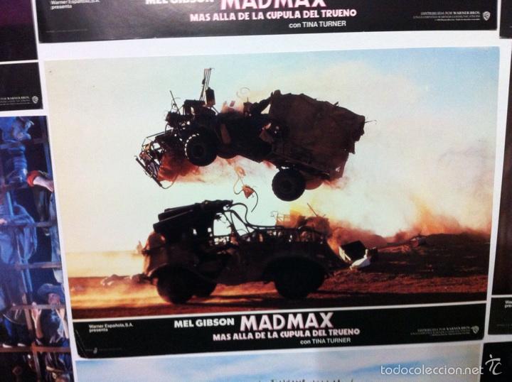 Cine: Lote 14 fotocromos MAD MAX 3 más allá de la cúpula del trueno - Foto 8 - 55058644