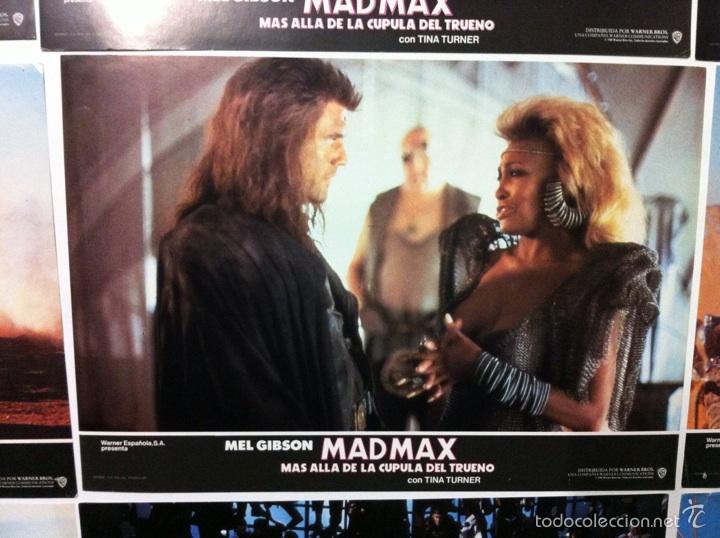 Cine: Lote 14 fotocromos MAD MAX 3 más allá de la cúpula del trueno - Foto 9 - 55058644