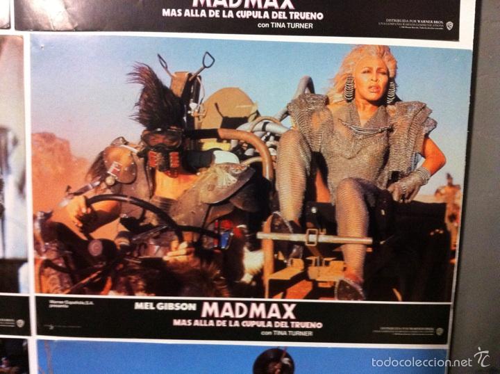 Cine: Lote 14 fotocromos MAD MAX 3 más allá de la cúpula del trueno - Foto 10 - 55058644