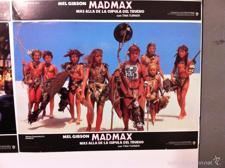 Cine: Lote 14 fotocromos MAD MAX 3 más allá de la cúpula del trueno - Foto 11 - 55058644