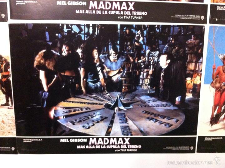 Cine: Lote 14 fotocromos MAD MAX 3 más allá de la cúpula del trueno - Foto 12 - 55058644