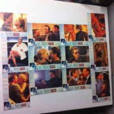 Cine: LOTE 12 FOTOCROMOS INSTINTO BÁSICO LOBBY CARDS BASIC INSTINCT. Lote 55061268