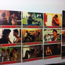 Cine: LOTE 12 FOTOCROMOS RAPID FIRE LOBBY CARDS BRANDON LEE. Lote 55062631