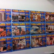 Cine: LOTE 12 FOTOCROMOS LOS PICAPIEDRAS LOBBY CARDS STEVEN SPIELBERG. Lote 55062688