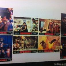 Cine: LOTE 8 FOTOCROMOS DEPREDADOR 2 LOBBY CARDS PREDATOR 2. Lote 83899928