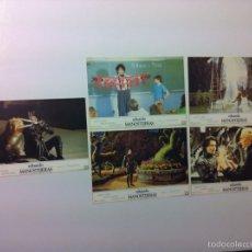 Cine: LOTE 5 FOTOCROMOS EDUARDO MANOSTIJERAS LOBBY CARDS TIM BURTON. Lote 55111453