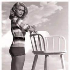 Cine: SEXY ELIZABETH MONTGOMERY ACTRESS PIN UP PHOTO POSTCARD - RWP 2003 (02). Lote 92374825