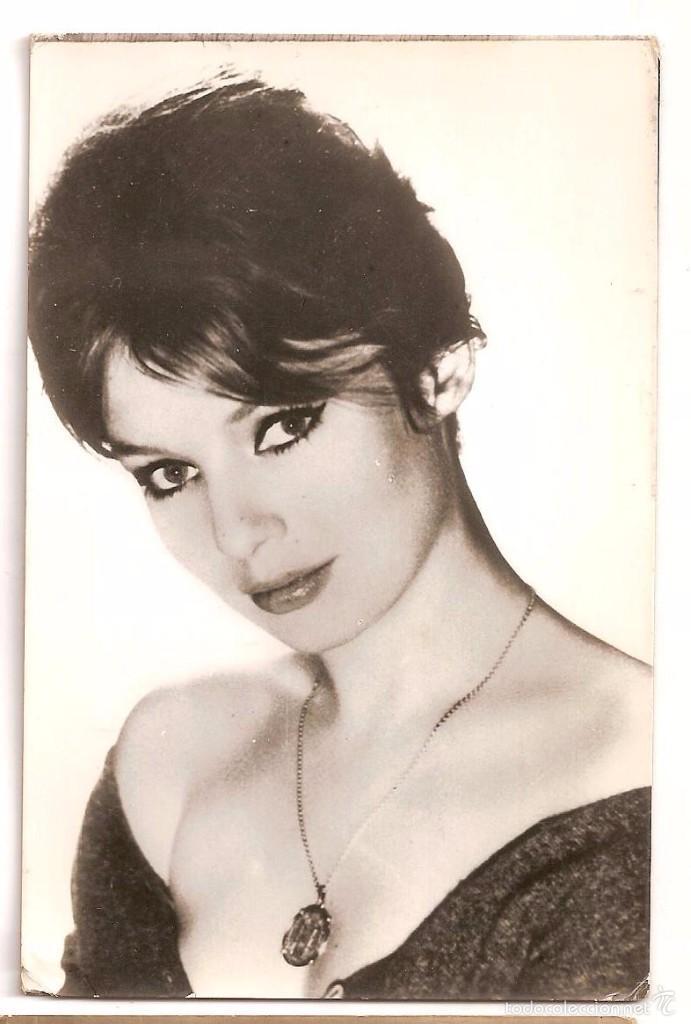 ANNETTE VADIM POSTAL 1961 (Cine - Fotos y Postales de Actores y Actrices)