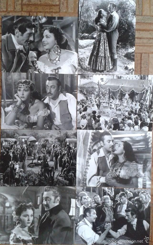 LA ALEGRE CARAVANA. 26 FOTOS 18X24. PAQUITA RICO, OTTO SIRGO (Cine - Fotos y Postales de Actores y Actrices)