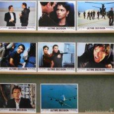 Cine: WR63 DECISION CRITICA KURT RUSSELL STEVEN SEAGAL SET COMPLETO 8 FOTOCROMOS ORIGINAL FRANCES. Lote 55318311