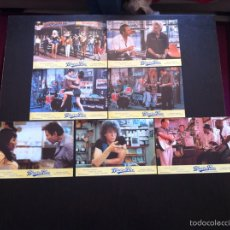 Cine: LOTE 7 FOTOCROMOS BLUE IN THE FACE LOBBY CARDS. Lote 55355661