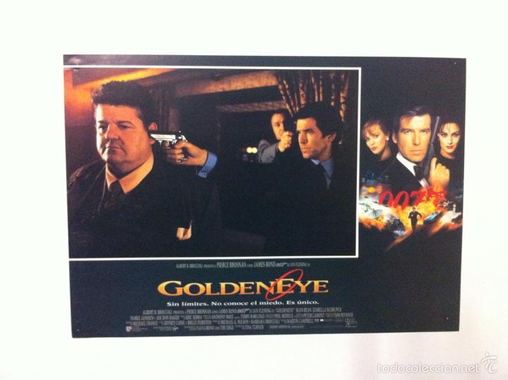 Cine: Lote 7 Fotocromos GOLDENEYE 007 JAMES BOND lobby cards Pierce Brosnan - Foto 2 - 55376440