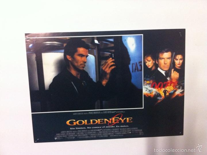 Cine: Lote 7 Fotocromos GOLDENEYE 007 JAMES BOND lobby cards Pierce Brosnan - Foto 3 - 55376440