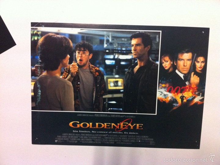 Cine: Lote 7 Fotocromos GOLDENEYE 007 JAMES BOND lobby cards Pierce Brosnan - Foto 4 - 55376440
