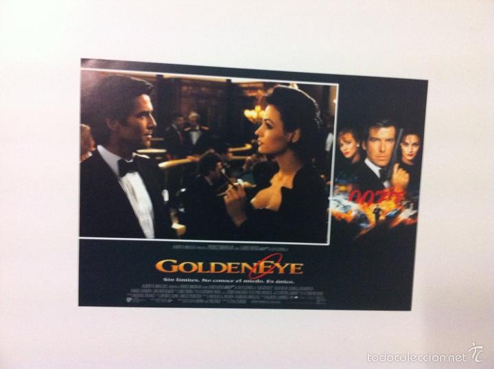 Cine: Lote 7 Fotocromos GOLDENEYE 007 JAMES BOND lobby cards Pierce Brosnan - Foto 6 - 55376440