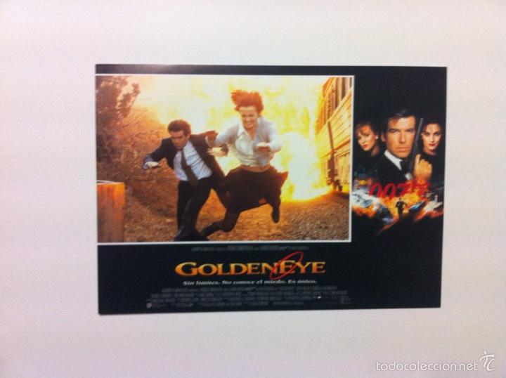 Cine: Lote 7 Fotocromos GOLDENEYE 007 JAMES BOND lobby cards Pierce Brosnan - Foto 7 - 55376440