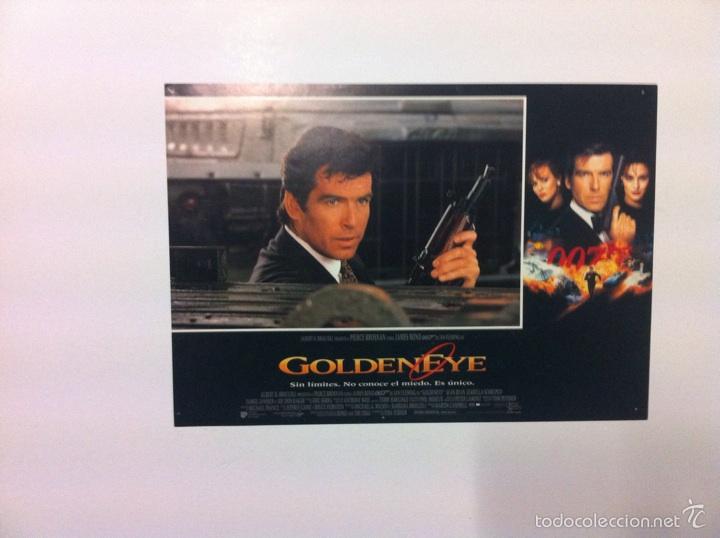 Cine: Lote 7 Fotocromos GOLDENEYE 007 JAMES BOND lobby cards Pierce Brosnan - Foto 8 - 55376440