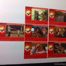 Cine: LOTE 7 FOTOCROMOS DRAGON LA VIDA DE BRUCE LEE LOBBY CARDS. Lote 55376699