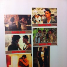 Cine: LOTE 6 FOTOCROMOS RAPID FIRE LOBBY CARDS. Lote 55376876