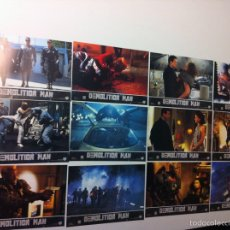 Cine: LOTE COMPLETO 12 FOTOCROMOS DEMOLITION MAN LOBBY CARDS. Lote 55380194