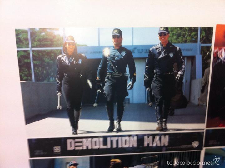 Cine: Lote completo 12 fotocromos DEMOLITION MAN lobby cards - Foto 2 - 55380194
