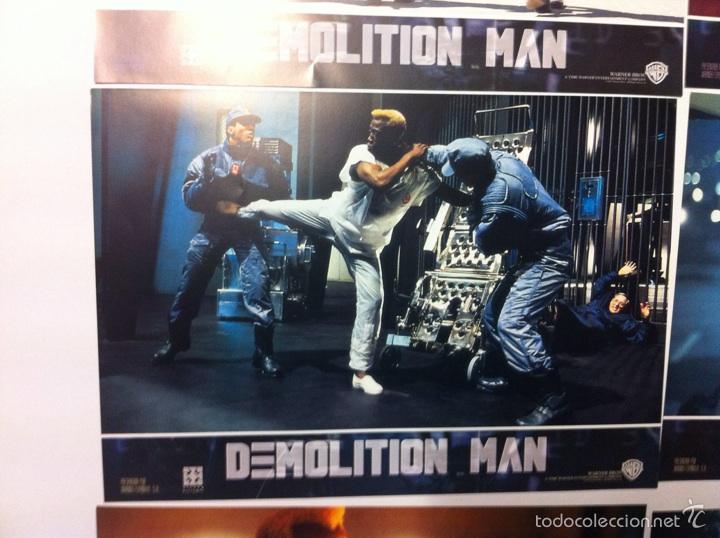 Cine: Lote completo 12 fotocromos DEMOLITION MAN lobby cards - Foto 3 - 55380194