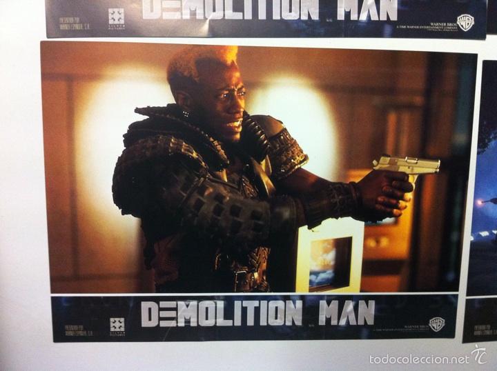 Cine: Lote completo 12 fotocromos DEMOLITION MAN lobby cards - Foto 4 - 55380194