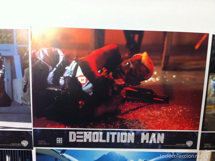 Cine: Lote completo 12 fotocromos DEMOLITION MAN lobby cards - Foto 5 - 55380194