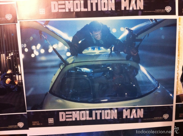 Cine: Lote completo 12 fotocromos DEMOLITION MAN lobby cards - Foto 6 - 55380194