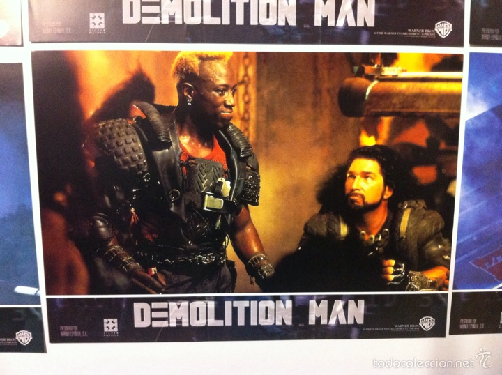 Cine: Lote completo 12 fotocromos DEMOLITION MAN lobby cards - Foto 8 - 55380194