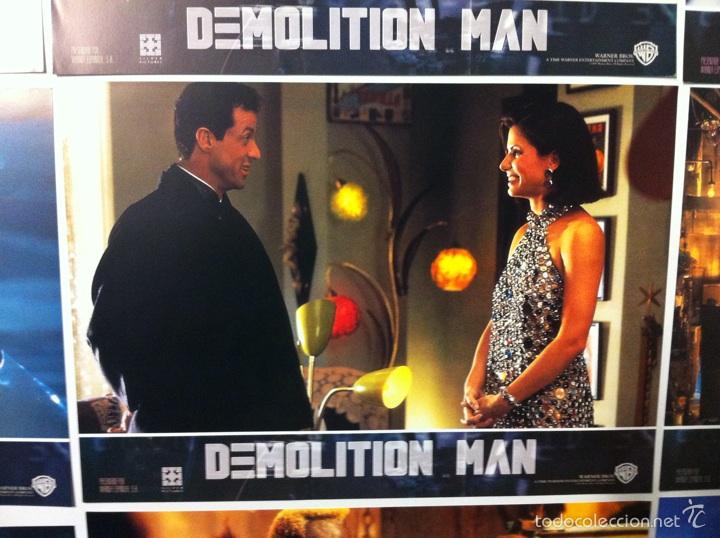 Cine: Lote completo 12 fotocromos DEMOLITION MAN lobby cards - Foto 9 - 55380194