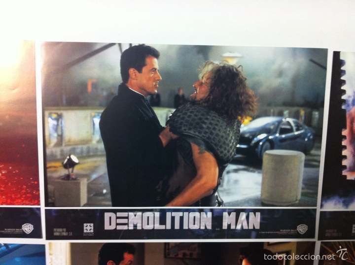 Cine: Lote completo 12 fotocromos DEMOLITION MAN lobby cards - Foto 10 - 55380194