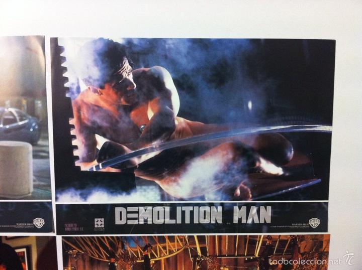 Cine: Lote completo 12 fotocromos DEMOLITION MAN lobby cards - Foto 11 - 55380194