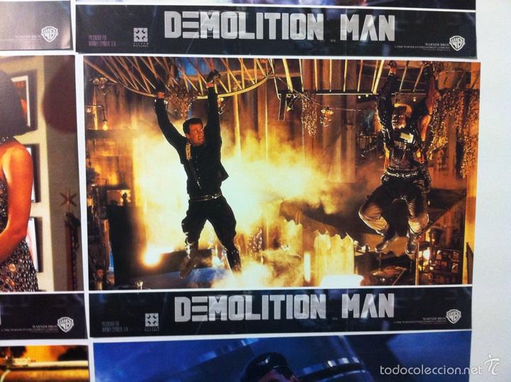Cine: Lote completo 12 fotocromos DEMOLITION MAN lobby cards - Foto 12 - 55380194