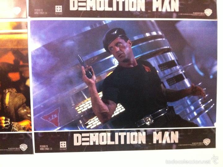 Cine: Lote completo 12 fotocromos DEMOLITION MAN lobby cards - Foto 13 - 55380194