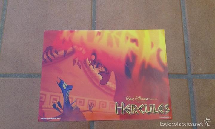 Cine: Lote 6 fotocromos HÉRCULES versión española DISNEY - Foto 6 - 55393163