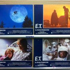 Cine: E.T. EL EXTRATERRESTRE STEVEN SPIELBERG SET COMPLETO 12 FOTOCROMOS ORIGINAL ESTRENO. Lote 55687789