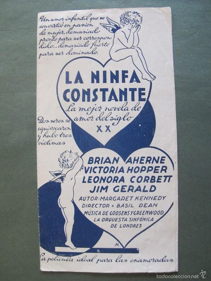 LA NINFA CONSTANTE- P (Cine - Fotos, Fotocromos y Postales de Películas)