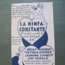 Cine: LA NINFA CONSTANTE- P. Lote 55704165