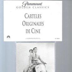 Cine: 342A- CARTEL ORIGINAL DE CINE DE VACACIONES EN ROMA. Lote 55911107