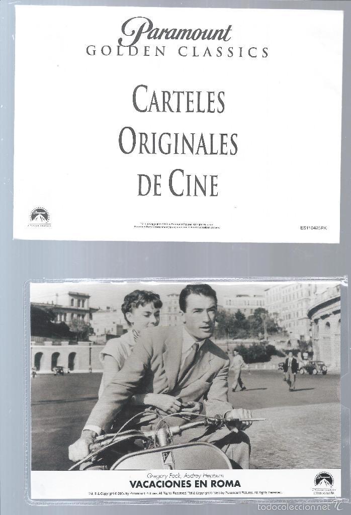 cartel de la pelicula vacaciones en roma
