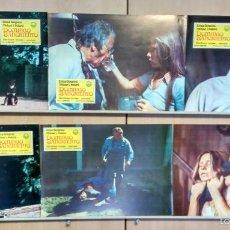Cine: SET COMPLETO 12 FOTOCROMOS ORIGINALES DOMINGO SANGRIENTO TERROR. Lote 56196249