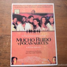 Cine: MUCHO RUIDO Y POCAS NUECES, LAUREN, 1994. Lote 56249797