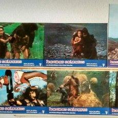 Cine: SET COMPLETO 8 FOTOCROMOS ORIGINALES HORDAS SALVAJES. Lote 56304542