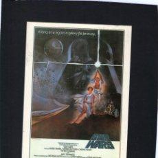 Cine: POSTAL - STAR WARS - LA GUERRA DE LAS GALAXIAS - GOLDIES PUBLICATIONS.. Lote 56485050